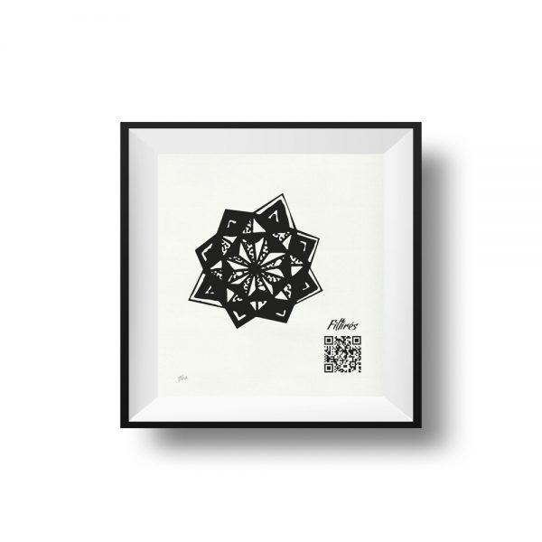 10x10 - estrella polar